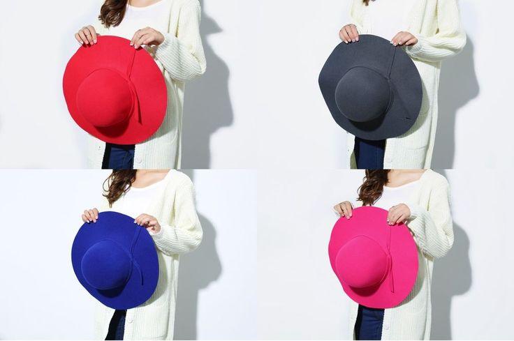 Lot 4 chapeaux laine feutre femme été hiver mariage neuf DÉSTOCKAGE !!!