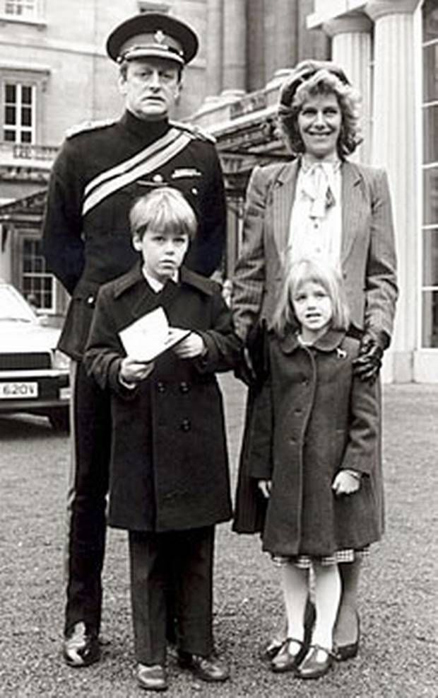 Camilla Parker Bowles First Husband and children.