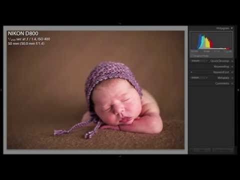 Ultimate Newborn Photography Tutorial with Stephanie Cotta - YouTube
