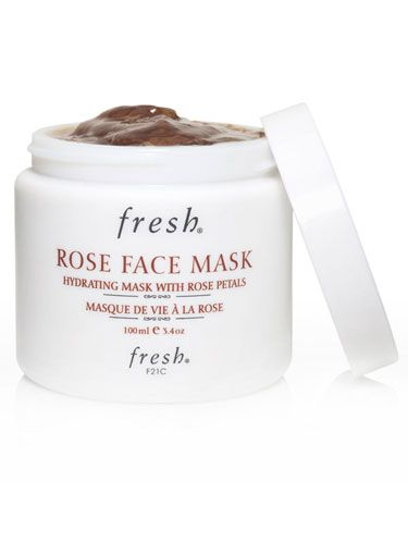 Best Winter Face Masks: Fresh Rose Face Mask - Best For: Pre-party skin. How It Works: A cult favorite for making skin glow before a big event, this mask is made with 60% pure rose floral water and crushed rose petals, along with cooling cucumber, chamomile, calendula and aloe vera gel, to leave skin refreshed and dewy. $55.