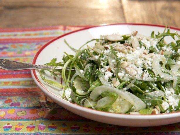 Quinoa salade met venkel, peer en blauwaderkaas