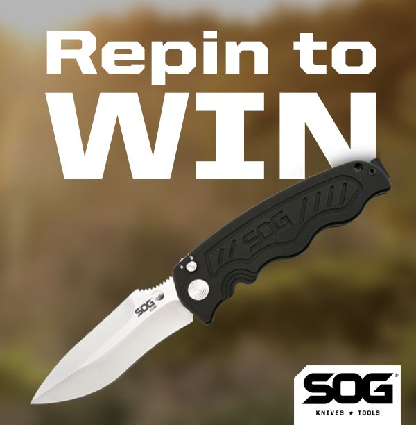RePin To Win this SOG Zoom. Use @SOGKnives and #SOGgiveaway2 in your description! Winner randomly selected Jan. 20.