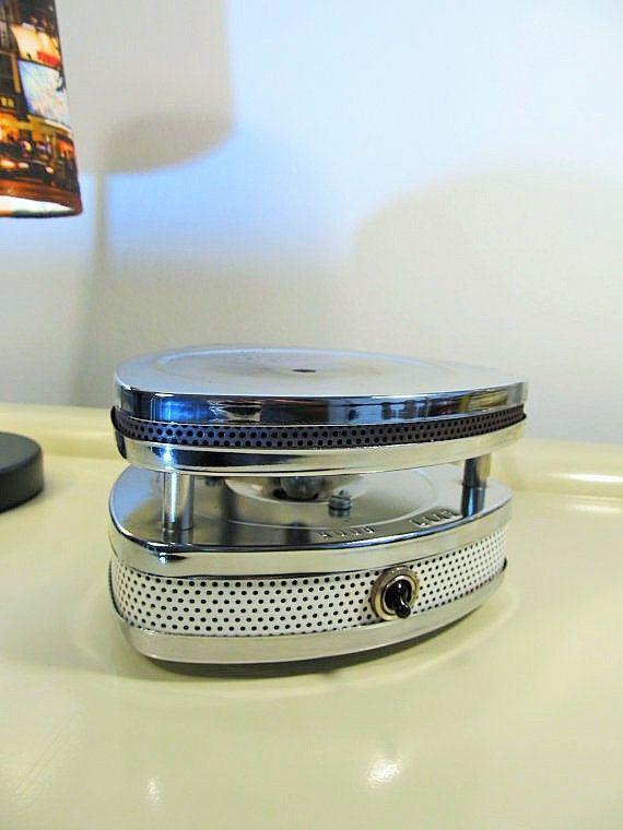 Retro elektrische voeding Warmer metaal Vintage door LaLanterne