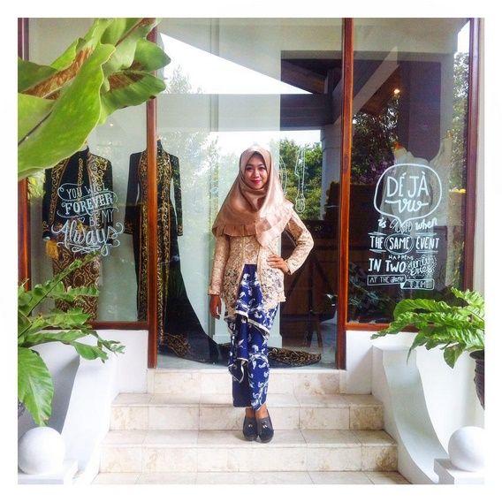 Kuthu Baru X Hijab #hijabstylebyme #traditional #javanese #moslem #dress #batik #fashion