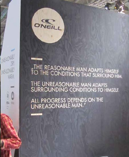 o'neill booth ISPO 2015