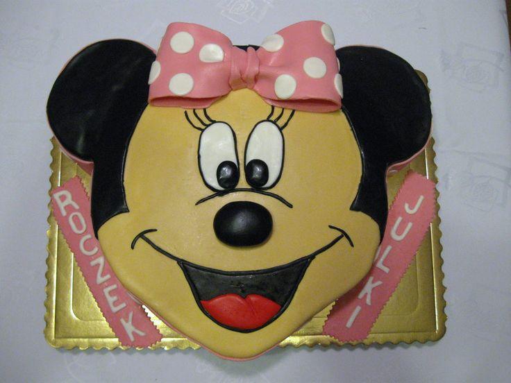 myszka minie tort