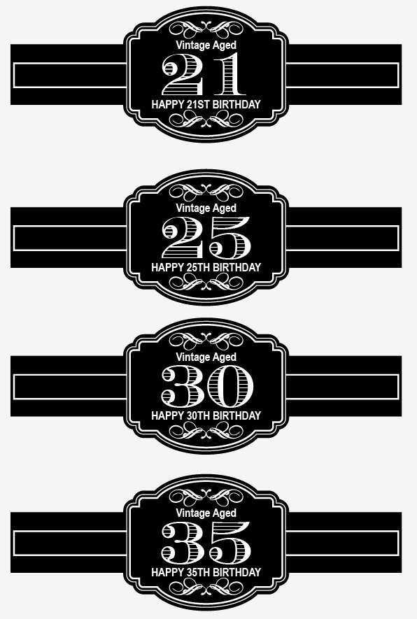Custom Milestone Birthday Cigar Labels Party Favor 30th 40th 50th Vintage Theme Birthday Cigar Label Personalized Birthday Cigar Labels by EventGalDecals on Etsy https://www.etsy.com/listing/487106569/custom-milestone-birthday-cigar-labels