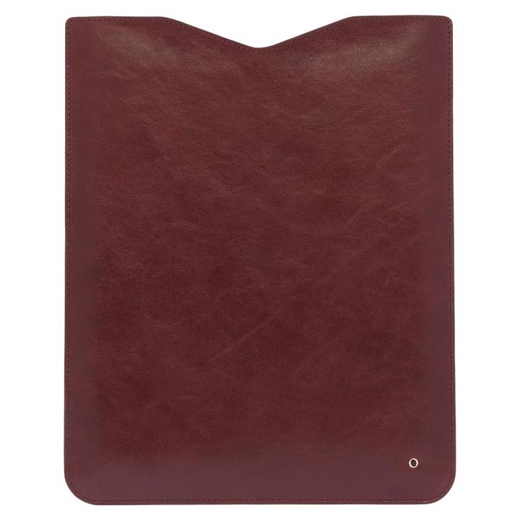 Oroton iPad sleeve.