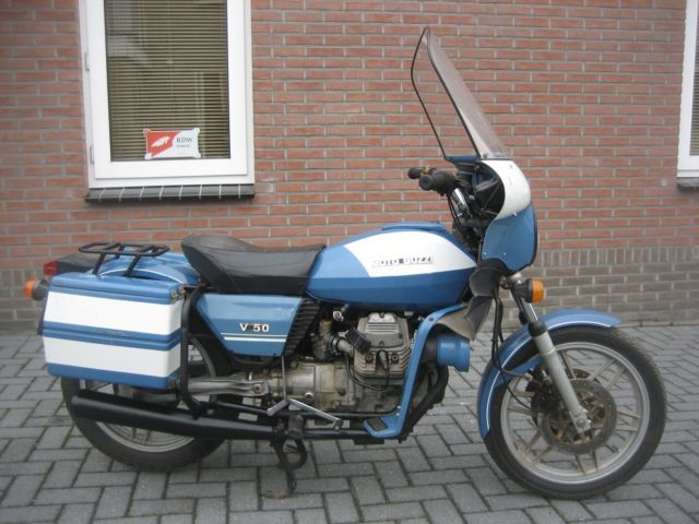 Moto Guzzi V  Polizei Cafe Racer