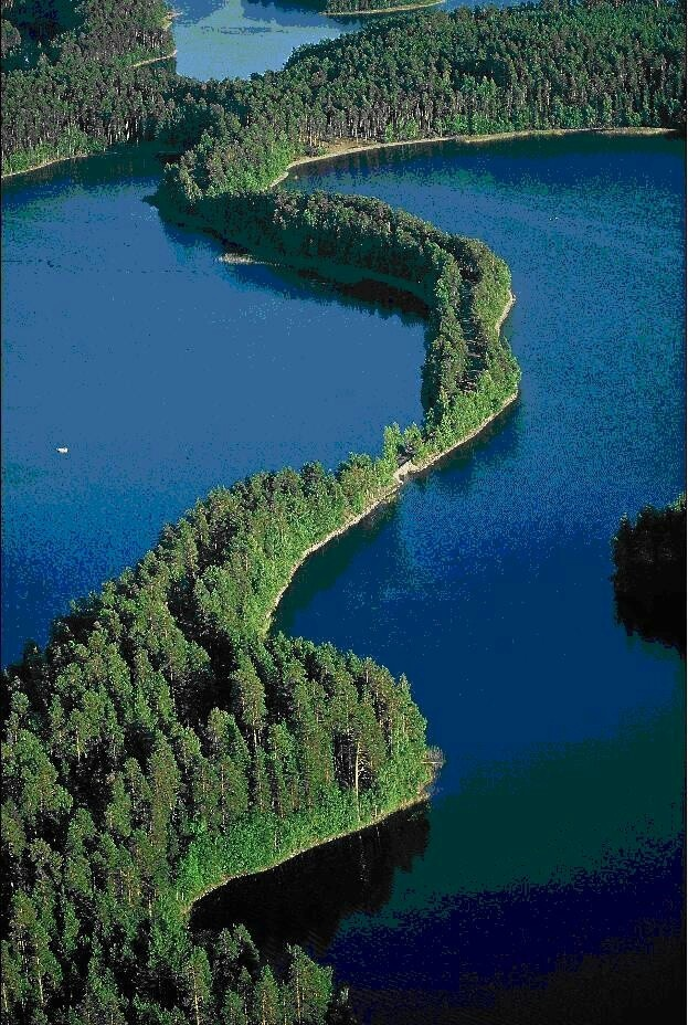 Lake view, Finland http://www.travelbrochures.org/241/europa/travel-finland Land of 60,000 lakes!