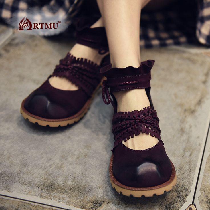 Artmu/Модная женская обувь с бантом с открытым носком женская обувь с бантом обувь на плоской подошве Tenis personalizado бака