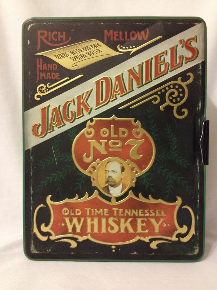 Vintage Jack Daniels Old No 7 Old Time Tennessee Whiskey