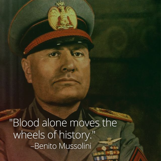 a look at benito mussolini and his foundation of italian fascism [view:podcasts_by_topic=mussolini]the doctrine of fascism benito mussolini (1932)(this article, co-written by giovanni gentile, is considered to be the most complete.