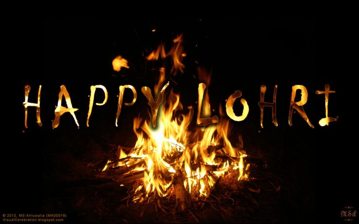 Happy Lohri friends!