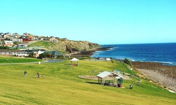'picnic grounds at Hallett Cove' quoted previous pinner • Adelaide's beaches