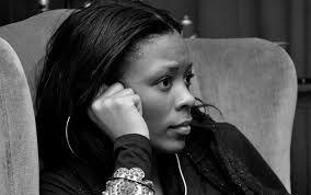 """Saida Grundy, professora assistente de sociologia e de """"estudos"""" afro-americanos."""