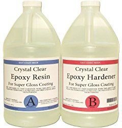 EPOXY RESIN 1 Gal Kit, General Purpose, Crystal Clear (Coating, Table Tops )
