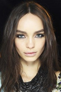 Centre Partings Hair How-To: Spring/Summer 2014 (Vogue.com UK)