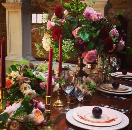 Design the perfect tablescape with Pink Poppi Designs. #LabourOfLoveKW