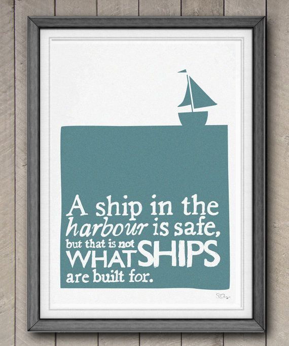 safe sailing.Wall Art, Quotes Love, Quote Prints, Cute Quotes, Sail Boats, Ships Quotes, Favorite Quotes, Quotes Prints, Inspiration Quotes