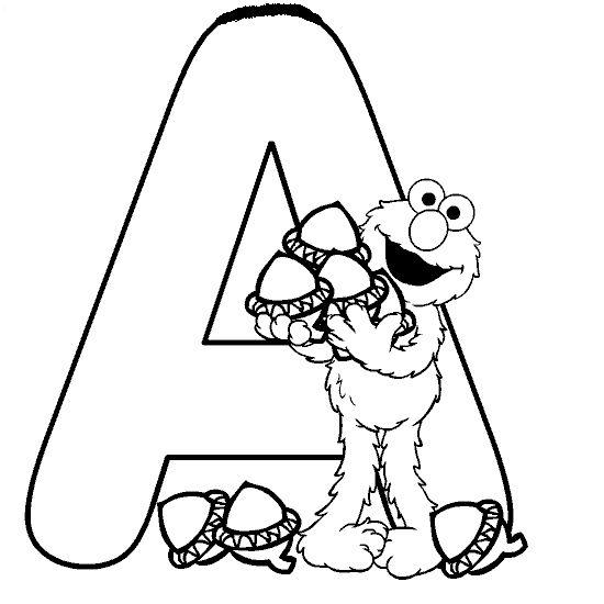ausmalbilder buchstaben a  abc malvorlagen alphabet