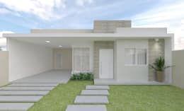 20 fachadas de casas que você PRECISA ver antes de mudar a sua! https://www.homify.com.br/livros_de_ideias/3074181/