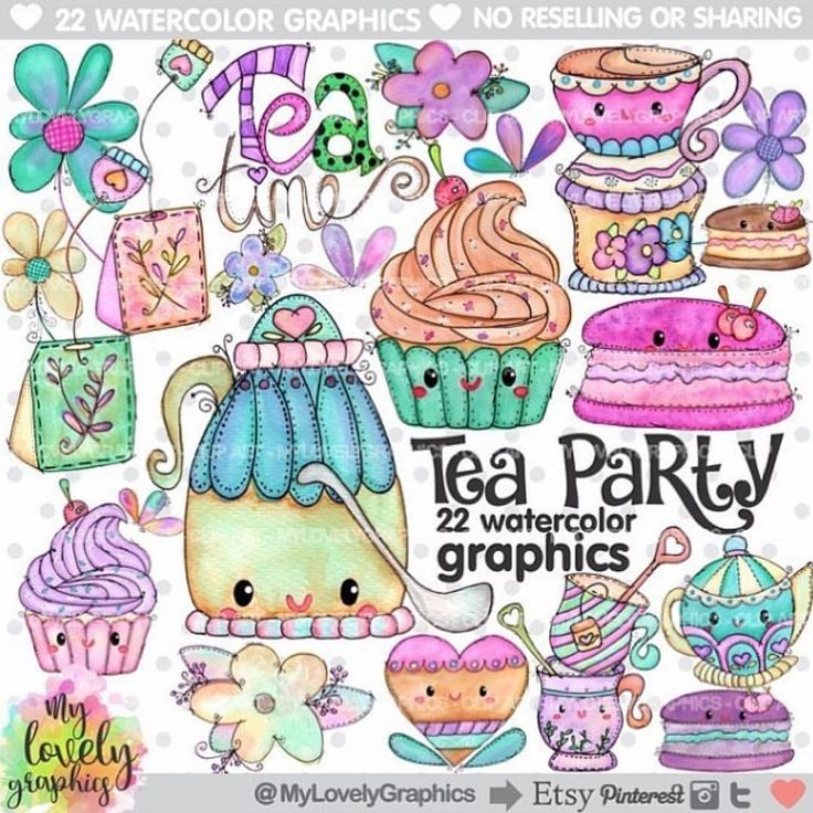 A Cup of Tea makes everything better! ☕️ 🌟Tea Party Clipart🌟 💟Personal and Small Commercial Use 💟 💜Find it: www.MyLovelyGraphics.Etsy.com #etsy #scrap #scrapbooking #scrapbook #party #partytime #partysupplies #partydecorations #planner #plannerlove #plannercommunity #plannergoodies #happyplanner #kawaii #planners #plannergeek #plannergirl #planneraddict #planneraccessories #plannerjunkie #planwithme #makingcards #cardmaking #clipart #graphicdesign #graphic #watercolor