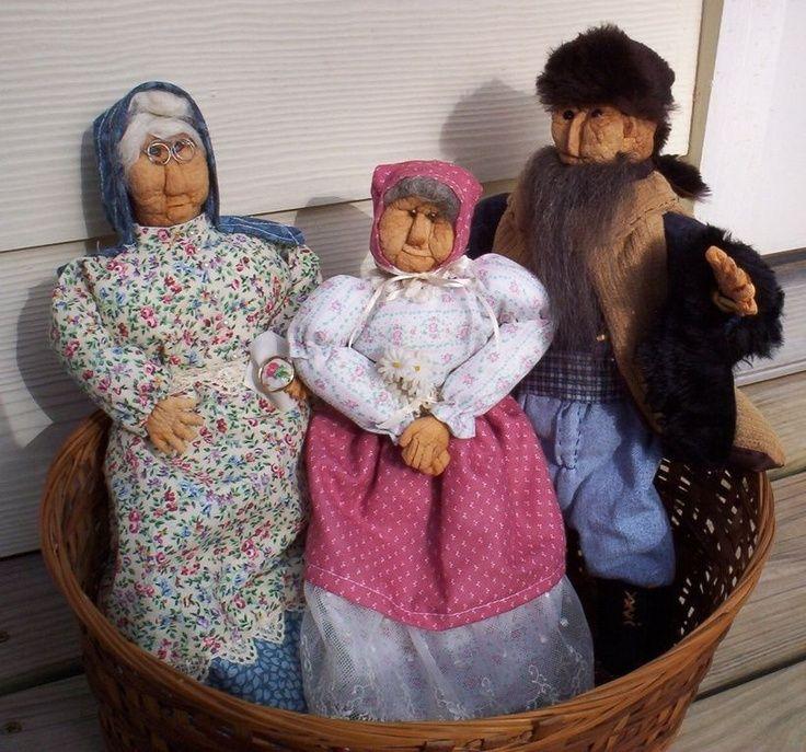 dried apple dolls
