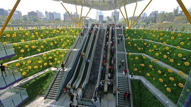 Las diez estaciones de Metro más espectaculares del mundo. Estación de Central Park Kaohsiung, Taiwan