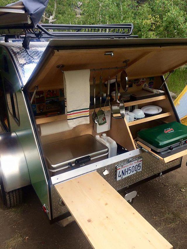 TC Teardrop Camping Trailers | 4x8