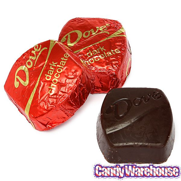 Candy ~ Mars, Incorporated - Dove _ Promises = Dark Chocolate