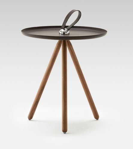 Contemporary wooden side table 973 by Pascal Bosetti  ROLF BENZ