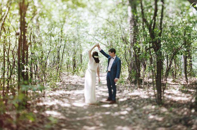 Wisconsin Camp Wedding: Lindsay + Bobby