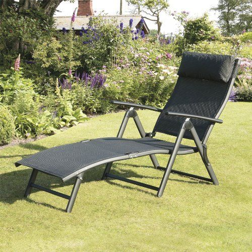 Suntime Havana Black Sun Lounger Amazon co uk Garden   Outdoors. 15 best Garden images on Pinterest   Garden furniture sets
