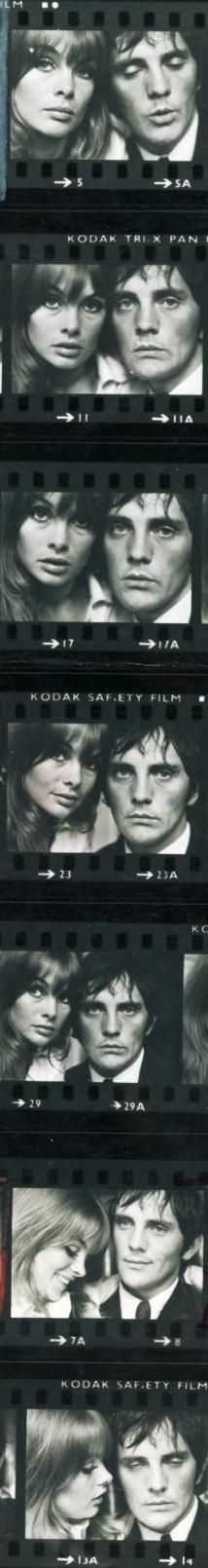 Jean Shrimpton & Terrence Stamp by David Bailey