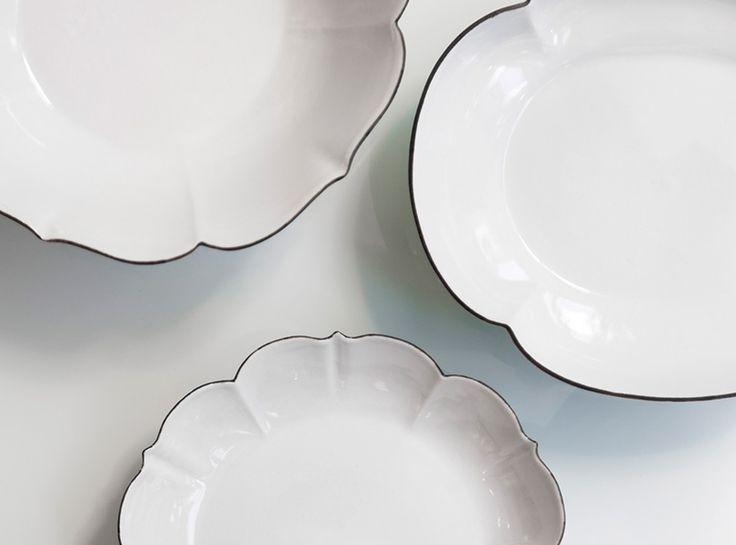 Katsutoshi Mizuno   水野克俊 / tableware - TIME & STYLE   タイム アンド スタイル 磁器 / Porcelain