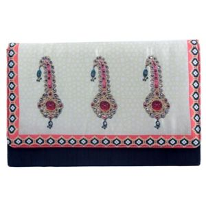 Bejeweled Broach Print #Clutch #Bags #Fashion #Accessories