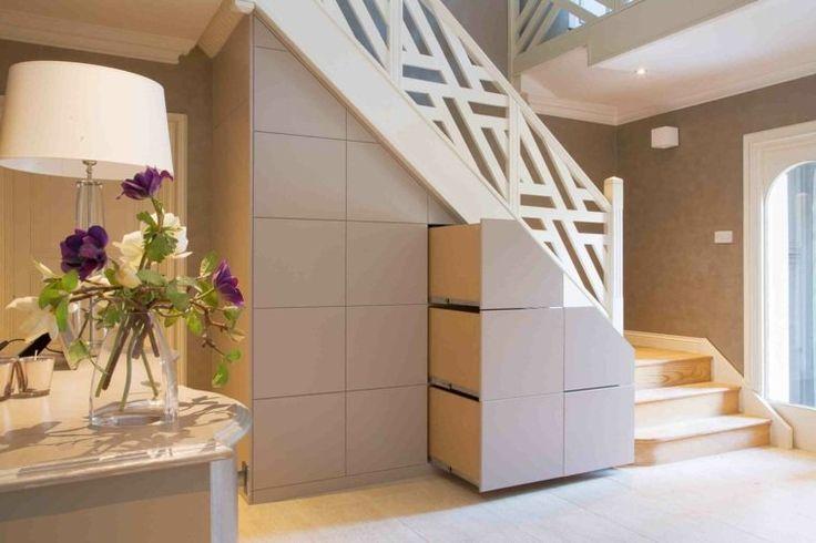 79 melhores imagens de escadas no pinterest arquitetura escada e design de escada Amenagement placard sous escalier