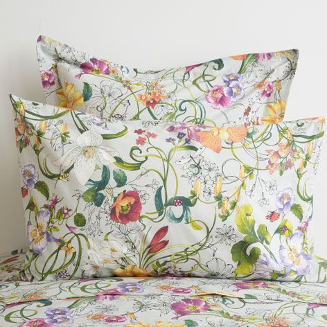 MULTICOLOURED FLOWERS BED LINEN - Bed Linen - Bedroom | Zara Home United Kingdom