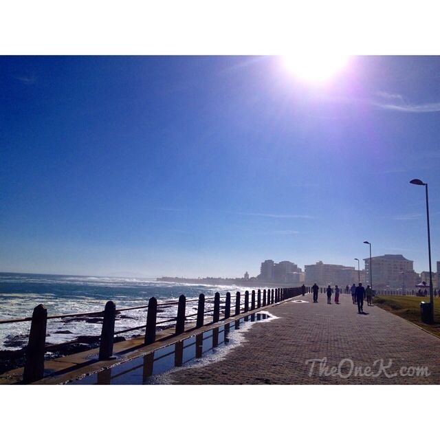 Sunny day on Cape Town Promenade. Beautiful! | TheOneK.com