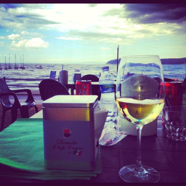 White wine....