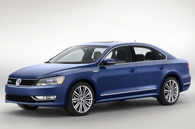 VW Passat BlueMotion Concept gets strong mpg with two cylinders tied behind its back. http://aol.it/1krlZwq  @Volkswagen USA #VW #bluemotion