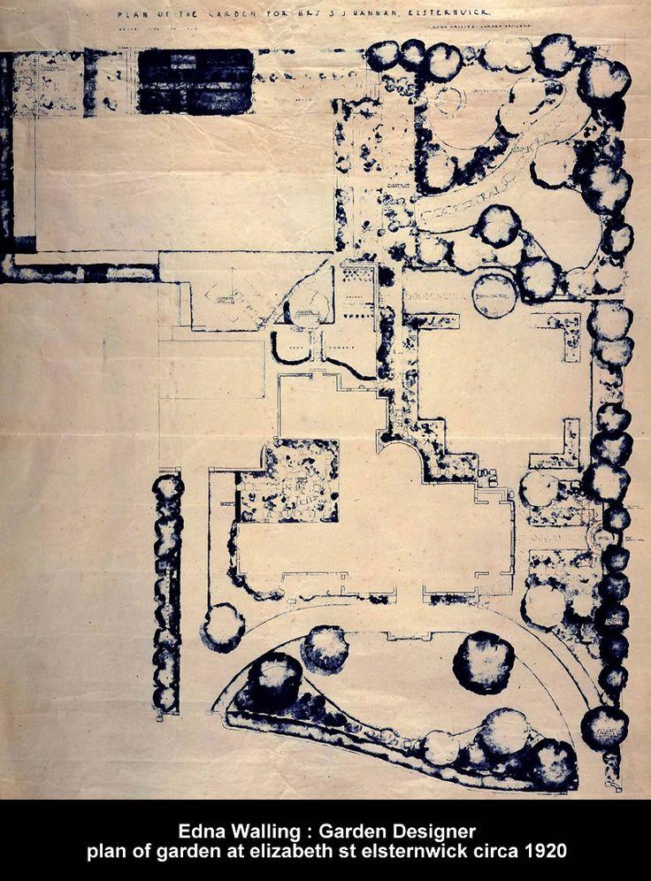 253 best gardens of edna walling images on pinterest