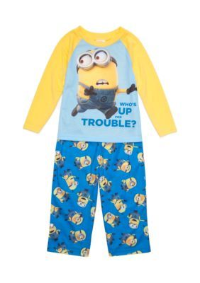 9aa7cdfc1390 Despicable Me™ Minion Trouble 2-Piece Pajama Set Toddler Boys - Yellow - 2T