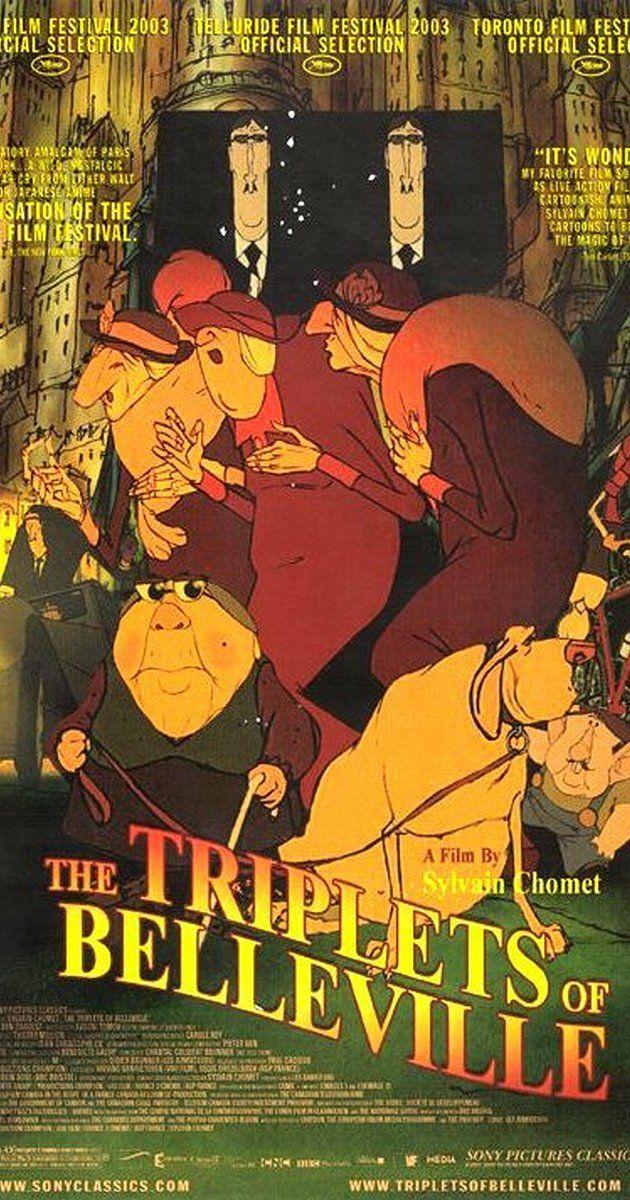 The Triplets of Belleville (2003) - IMDb