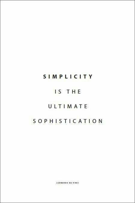 Minimalist Classroom Rules : Best simplicity is the ultimate sophistication images