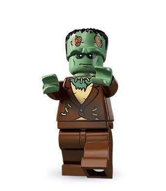 """Monster here to help!""Lego Figures Zombies, Frankenstein Lego, Lego Series, Lego Frankenstein, Halloween Legos, De Lego, Lego D, Lego Monsters, Lego Minifigures"