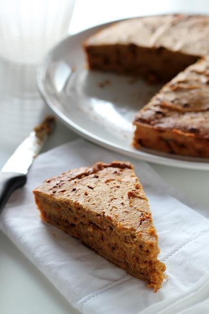 Cake con farina di riso e ricotta