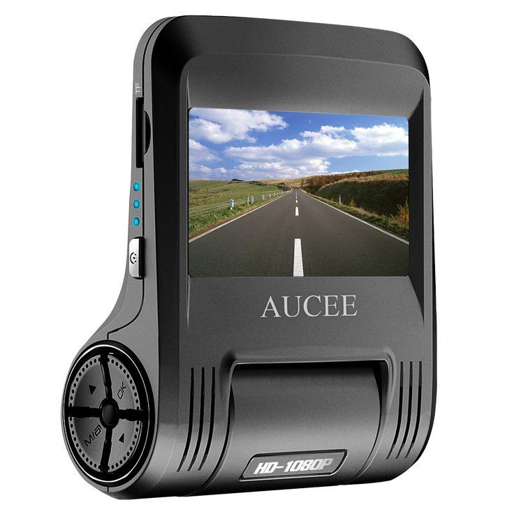 AUCEE Roader Dash Cam, WiFi 1080P Full HD 170° Wide Angle 2.45'' Screen Car Dashboard Camera Recorder, Car DVR Vehicle Camera with Sony Sensor Night Vision, G-Sensor, WDR, Loop Recording