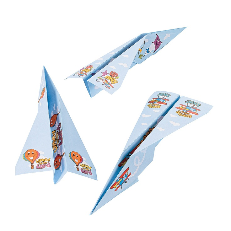 Up & Away Airplanes - OrientalTrading.com
